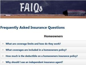 Click for answers to more of your insurance questions!