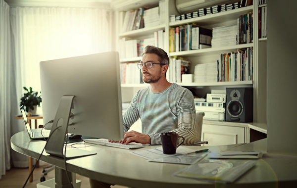 Telecommuting (working From Home) Is Growing In Popularity. According To  Global Work Play Analytics, The Number Of U.S. Workers Who Do At Least 50%  Of Their ...