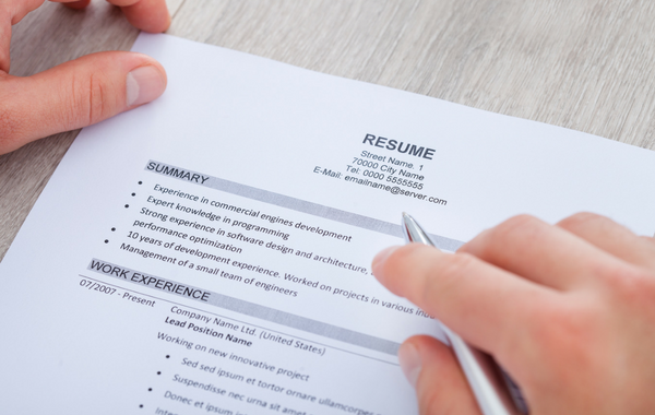 writing a winning resume central insurance companies