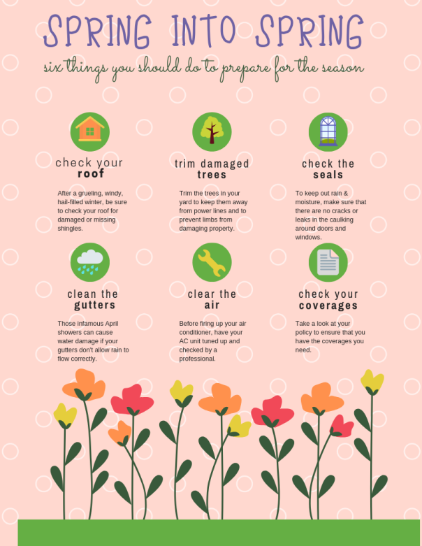 Spring Into Spring Info