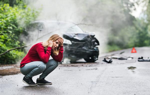 College kid car accident